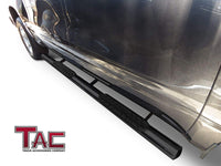 "TAC Gloss Black 4"" Side Steps for 2005-2020 Nissan Frontier Crew Cab Truck 