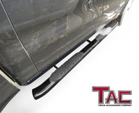 "TAC Gloss Black 5"" Oval Bend Side Steps For 2019-2021 Dodge Ram 1500 Crew Cab (Excl. 19-20 RAM 1500 Classic) 