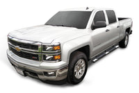 "TAC Stainless Steel 5"" Oval Straight Side Steps For 2007-2018 Chevy Silverado/GMC Sierra 1500 Crew Cab / 2007-2019 Chevy Silverado/GMC Sierra 2500/3500 Crew Cab 