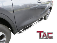"TAC Stainless Steel 3"" Side Steps for 2020-2021 Toyota Highlander (Exclude Hybrid) SUV 