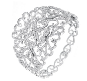 Elite Filigree Cuff Bracelet