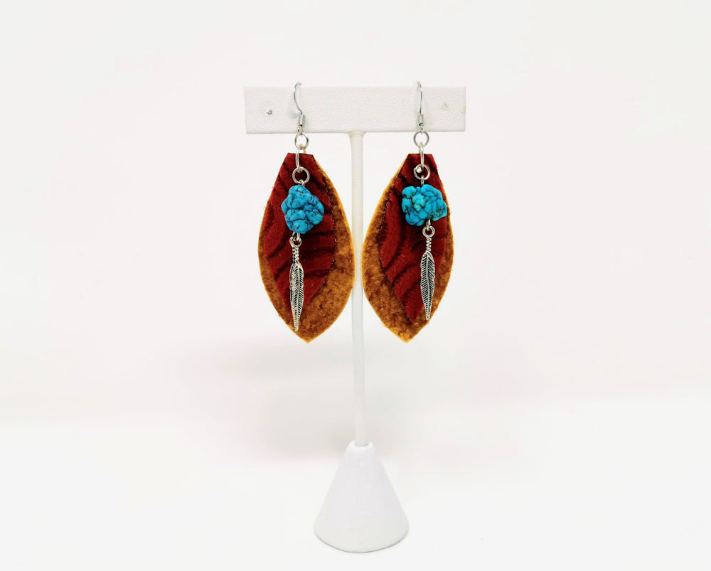 Hide Earrings by Amanda Marlowe