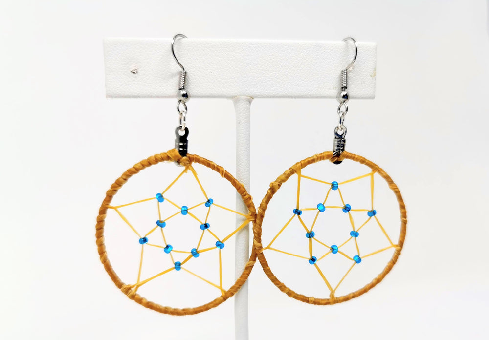 Dreamcatcher Earrings by Hilary Catholique