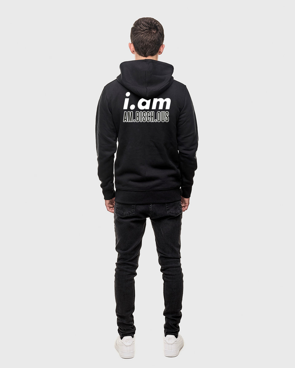 Am.bisch.ous - Black - Unisex zip up hoodie