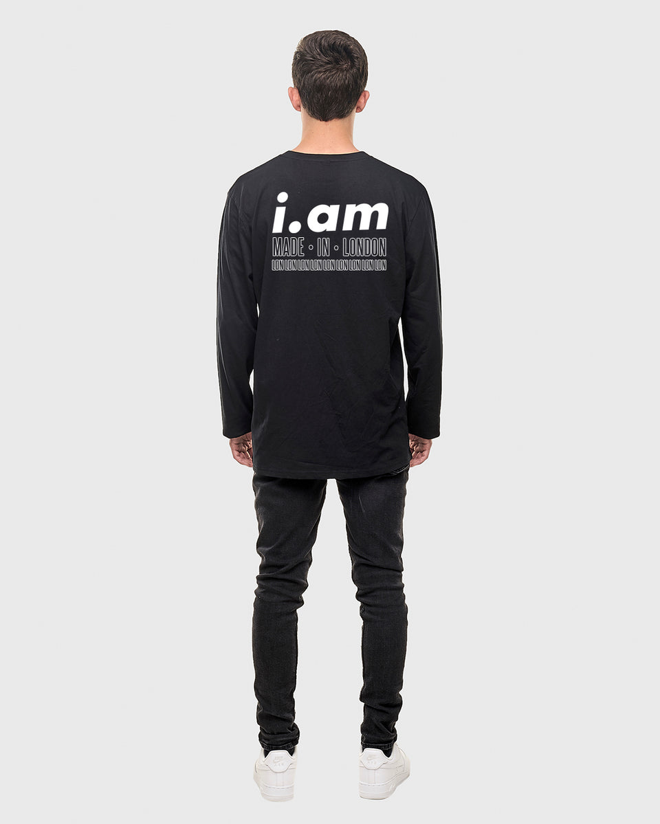Made in London - Black - Unisex Long sleeve T