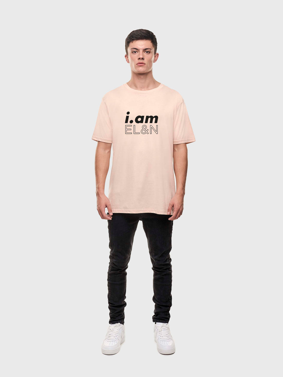 i.am EL&N - Pink / Grey/ White - Unisex T