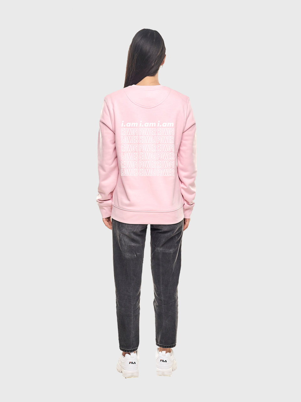 Power - Pink - Unisex sweatshirt