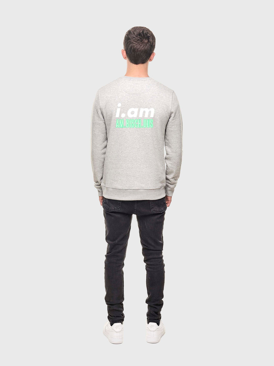 Am.bisch.ous - Grey - Unisex sweatshirt