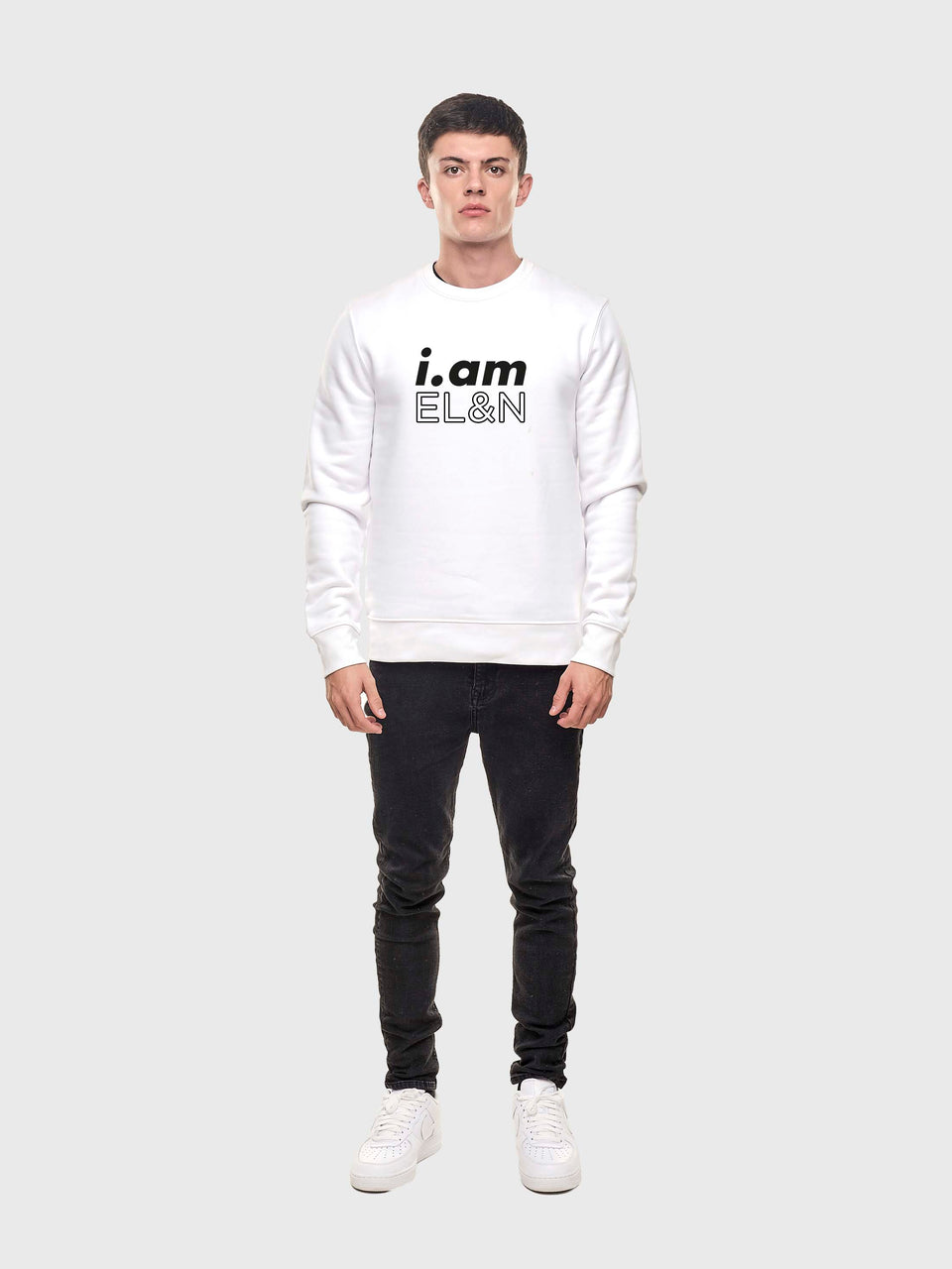 I.am EL&N - Pink / Grey/ White - Unisex sweatshirt