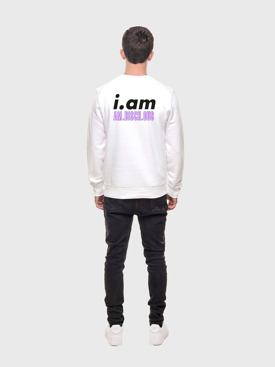 Am.bisch.ous - White - Unisex sweatshirt