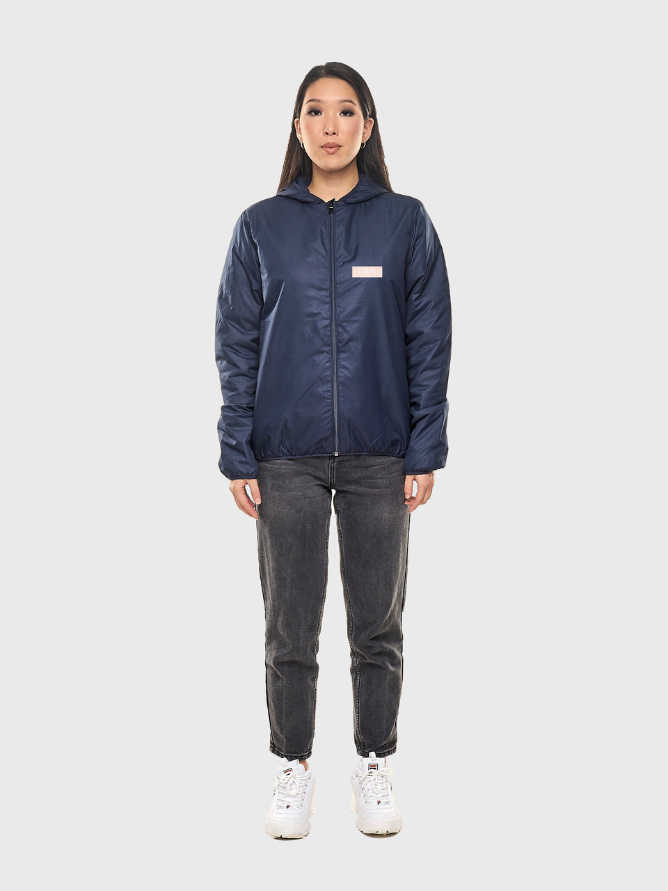 I.AM EL&N - Navy - Rain jacket