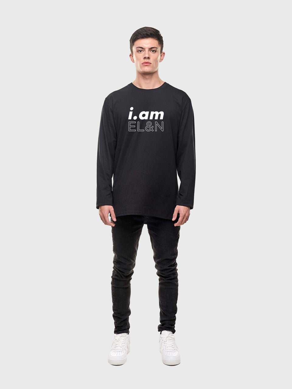 I.am EL&N - Black - Unisex long sleeve T