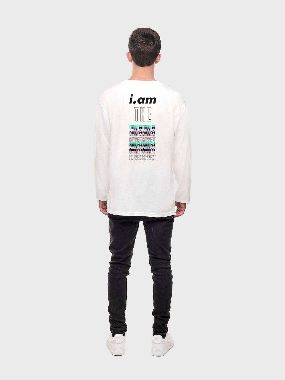 The connect - White - Unisex long sleeve T