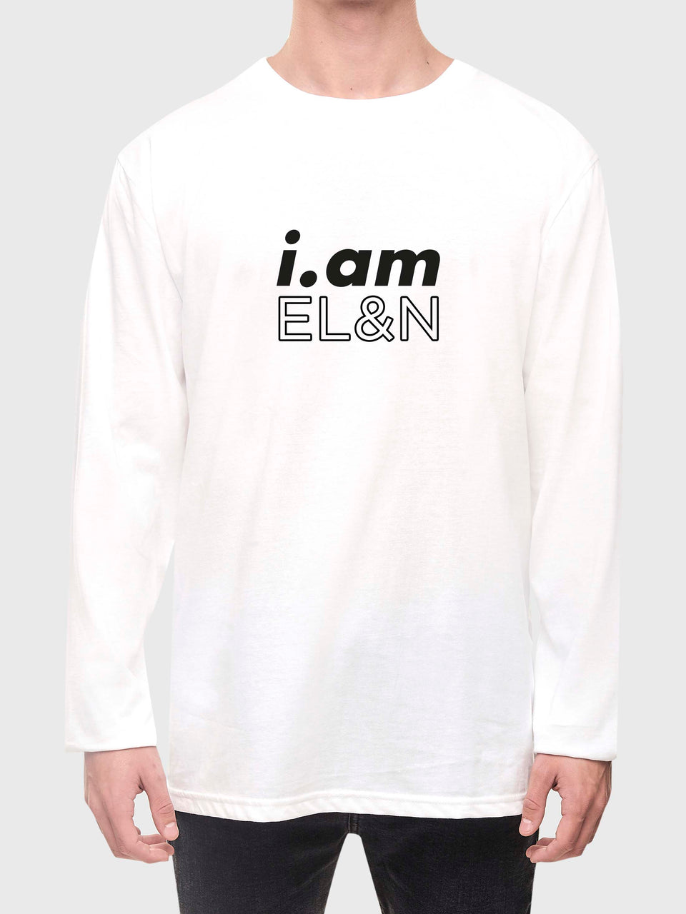 i.am EL&N - White - Unisex long sleeve T