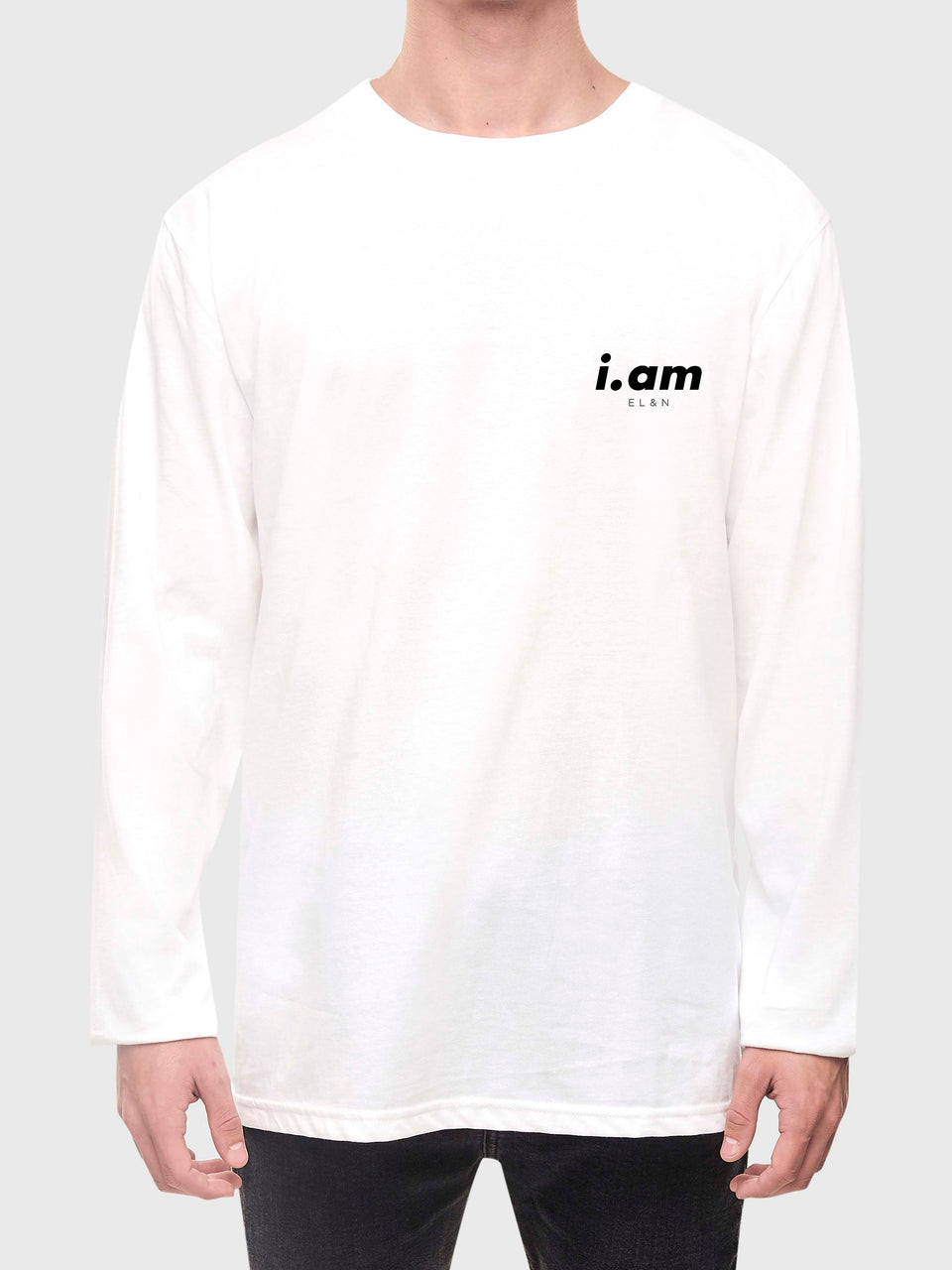 Made in London - White - Unisex long sleeve T