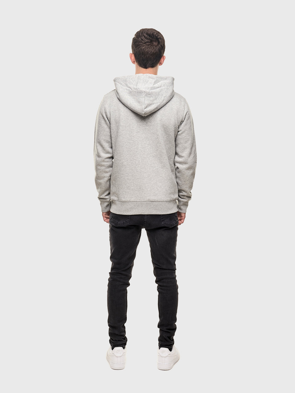 i.am EL&N - Grey / White / Pink - Unisex pull over hoodie