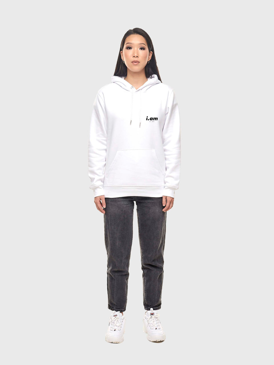 Making It - White - Unisex pull over hoodie