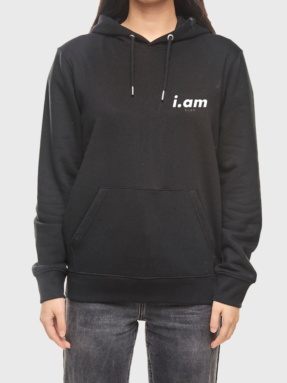 Making it - Black - Unisex pull over hoodie