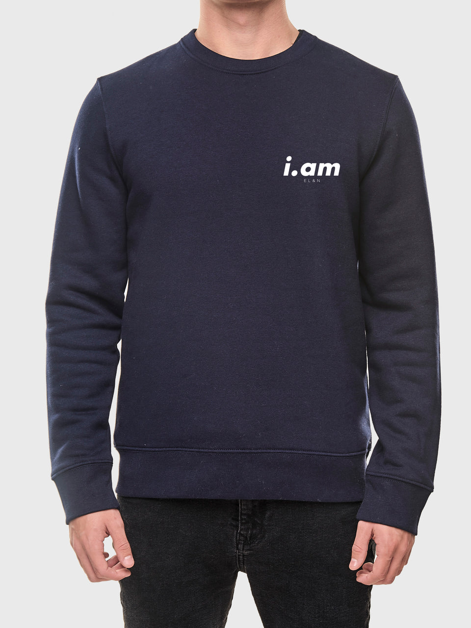 Not a copy - Navy - Unisex sweatshirt
