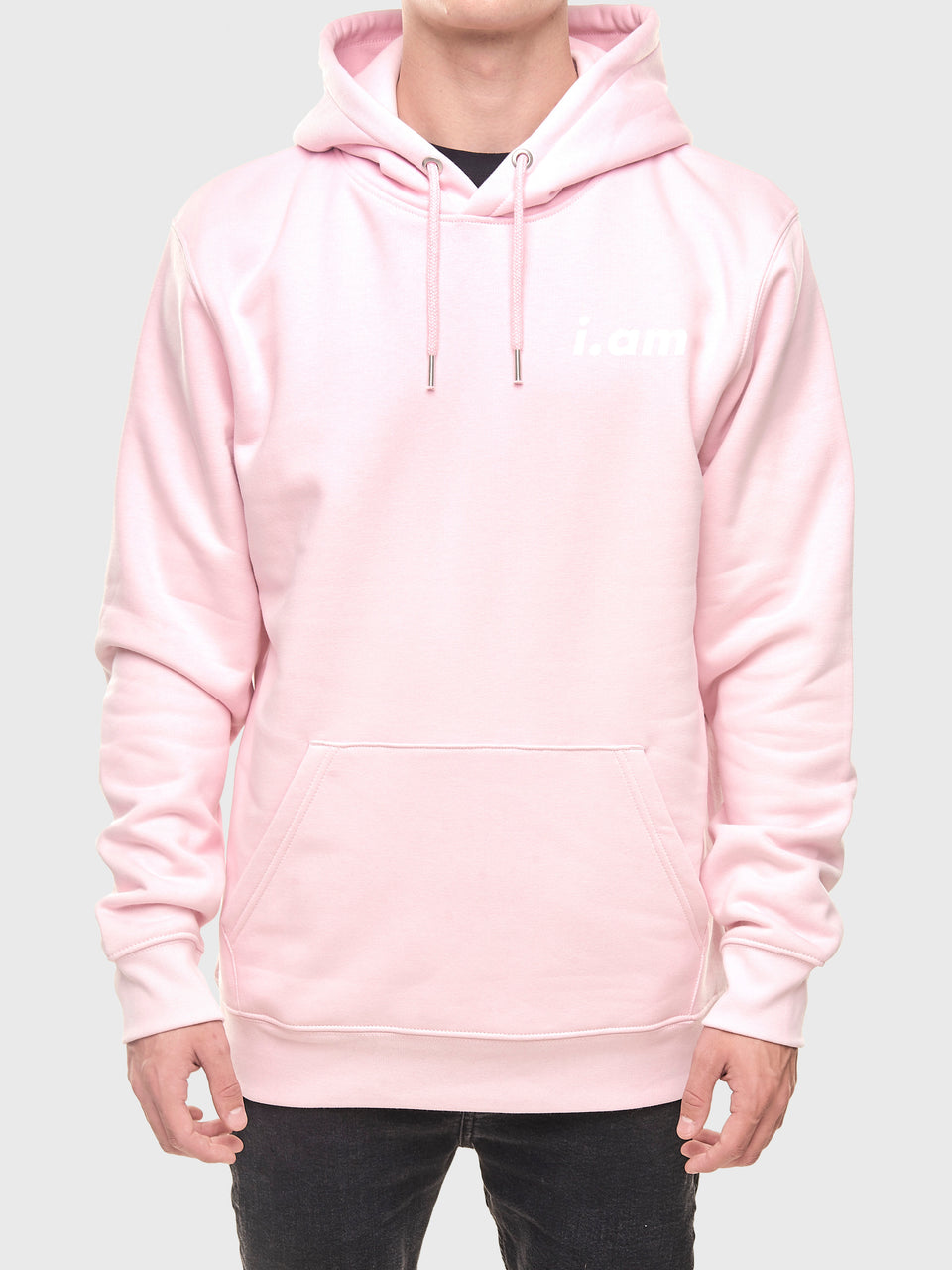Not a copy - Pink - Unisex pull over hoodie