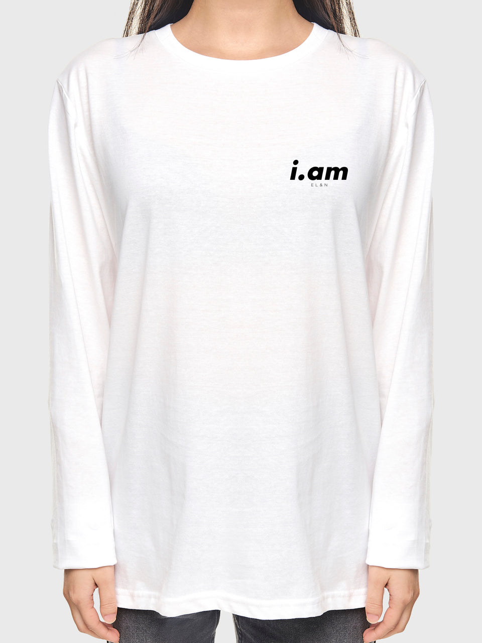 Making It - White - Unisex long Sleeve T