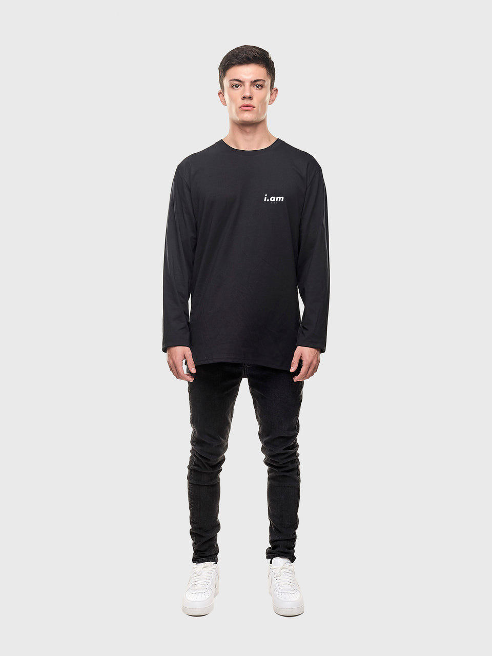 Am.bisch.ous - Black - unisex Long sleeve T