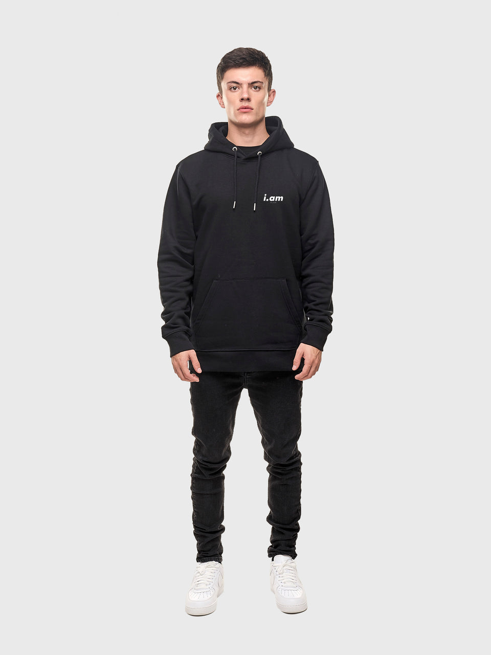 A good story - Black - Unisex pull over hoodie