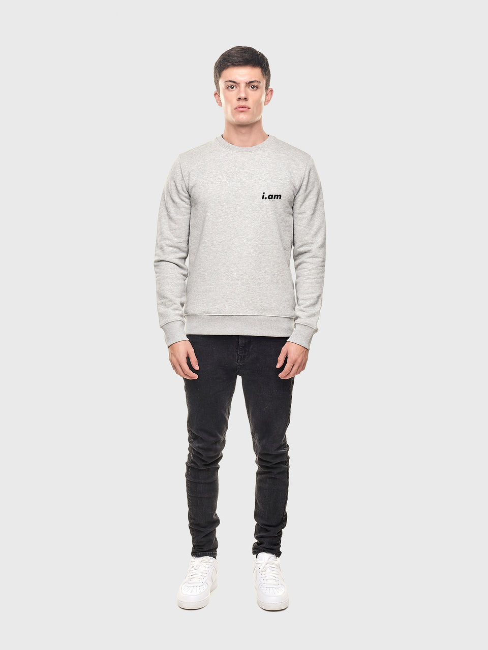 A good story - Grey - Unisex sweatshirt