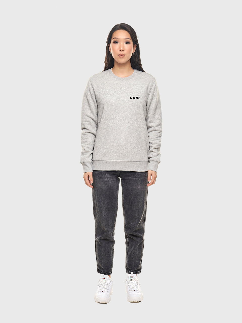 Power - Grey - Unisex sweatshirt