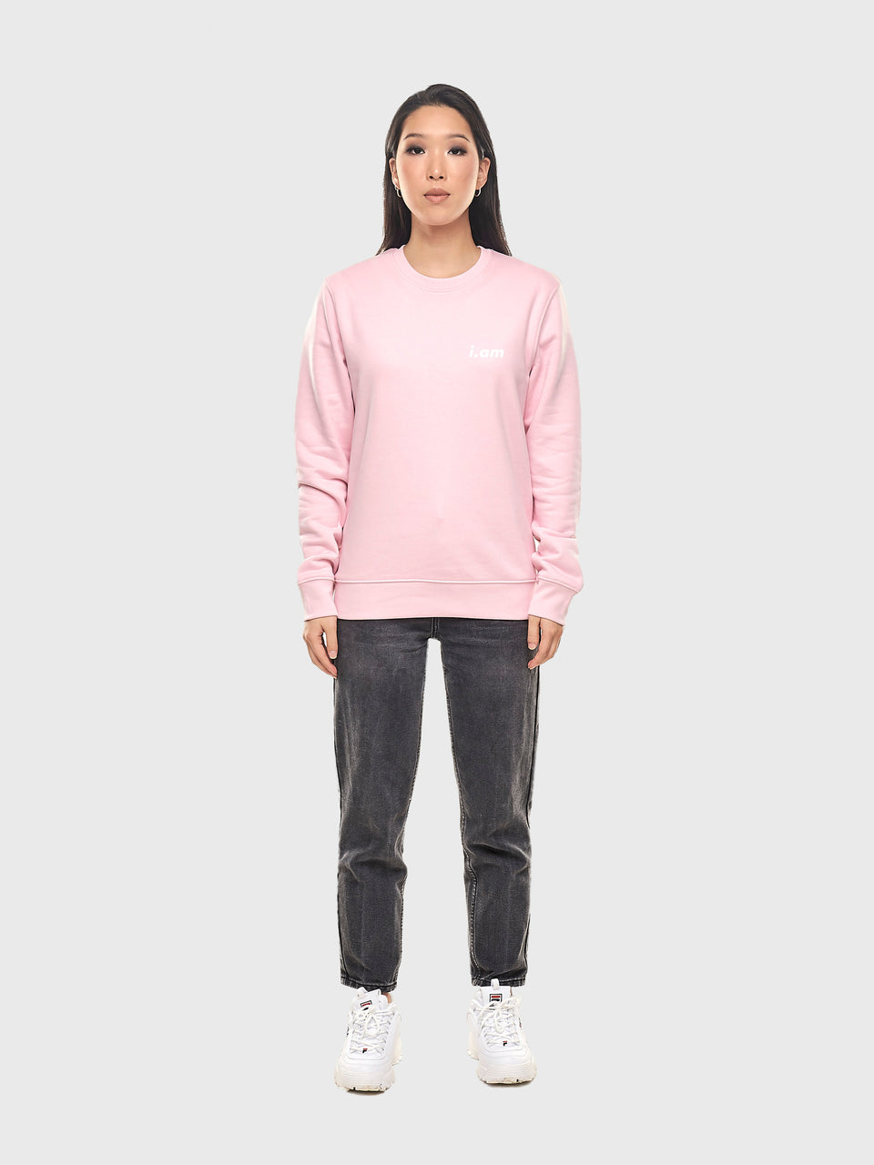 The connect - Pink - Unisex sweatshirt