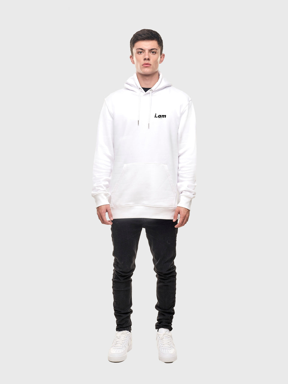 A good story - White - Unisex pull over hoodie