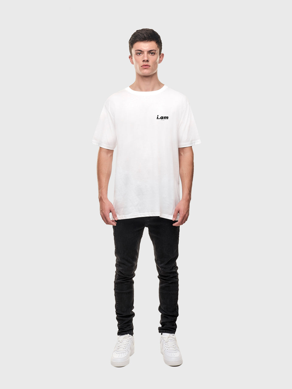 The connect - White / Grey - Unisex T