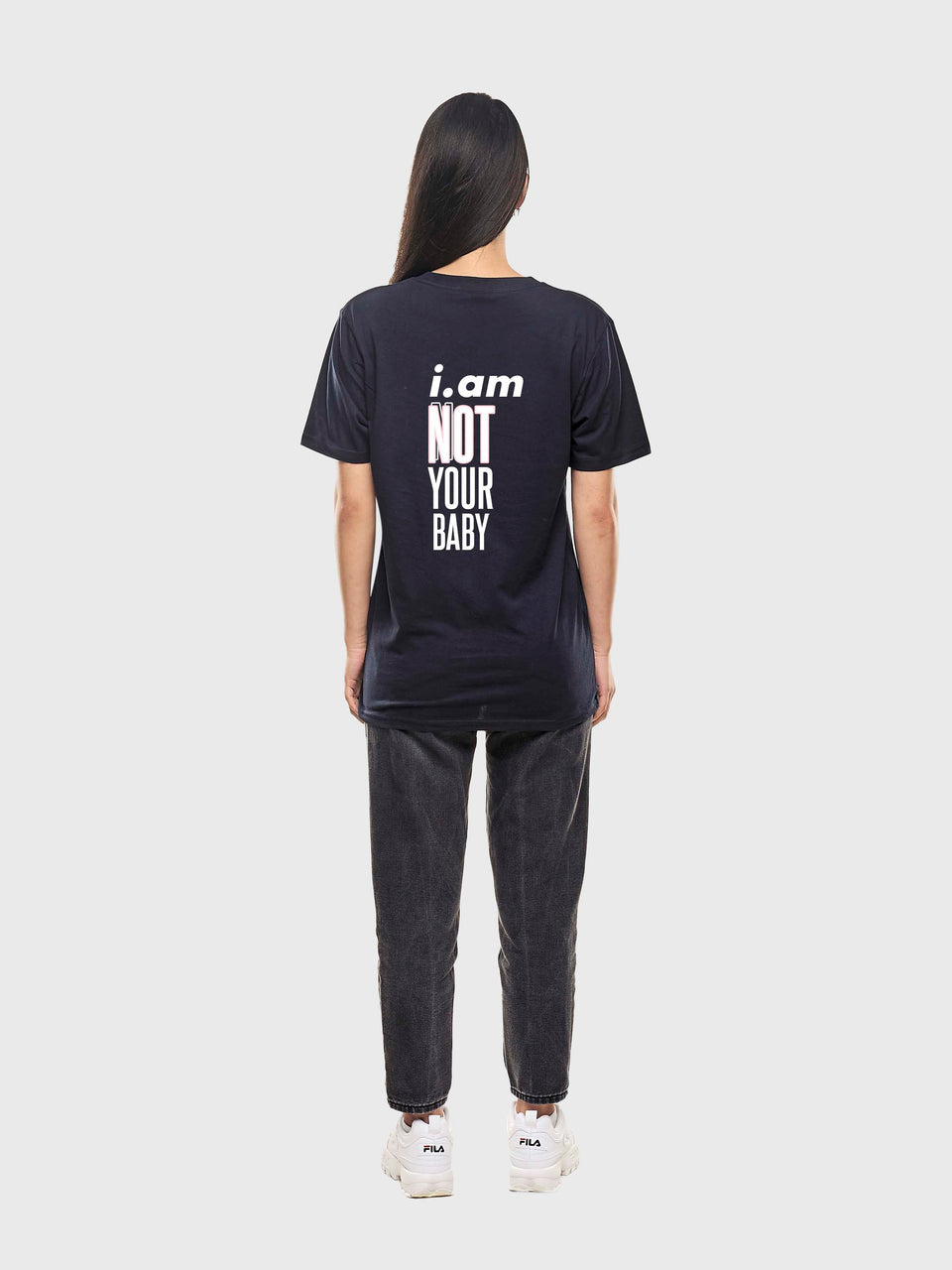 Not Your Baby - Navy - Unisex T