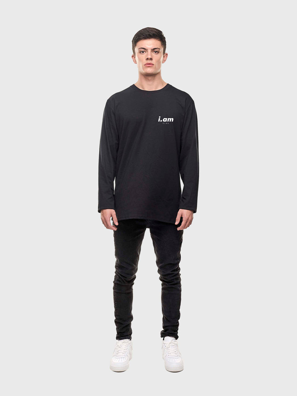 Showing not telling -  Black - unisex Long sleeve T