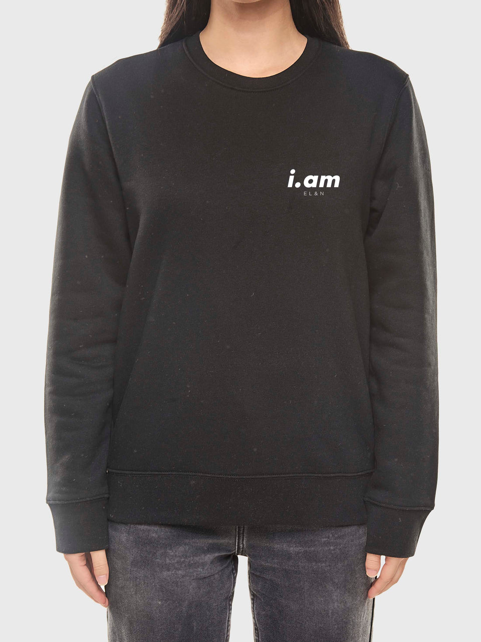 Showing not telling - Black - Unisex sweatshirt