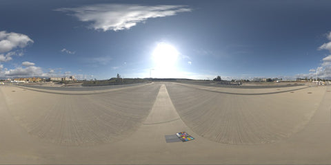 HDR LightMap: Open Space At Noon (Day)