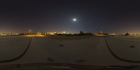 HDR LightMap: Full Moon (Night)