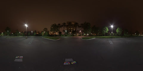 HDR LightMap: The Parking Lot (Night)