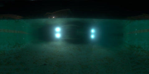 HDR LightMap Set: Underwater Pool (Night)