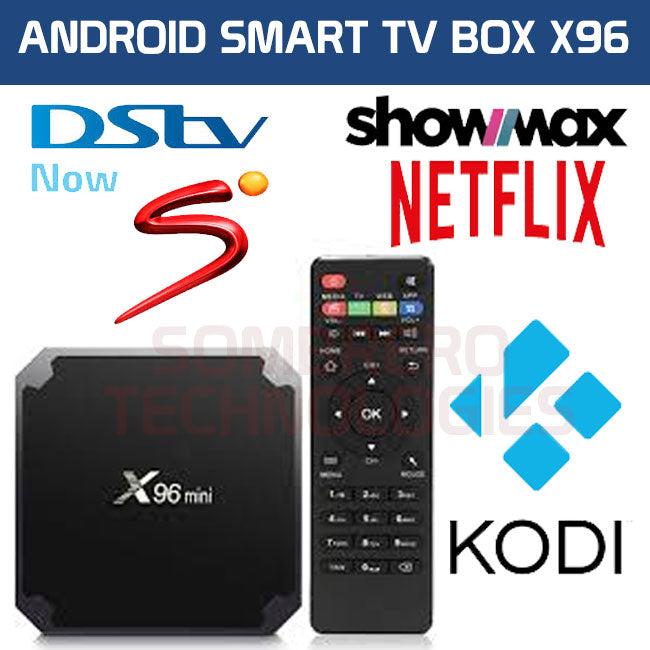 DSTV NOW X96 mini 4K TV Box (Supports DSTV NOW, SUPERSPORT, SHOWMAX,  NETFLIX, MIRACAST, KODI)
