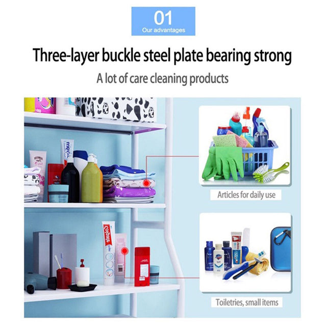 Bathroom Stainless Steel Shelf