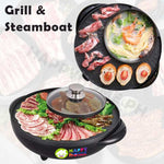 High Quality 2 in 1 Grill and Steamboat