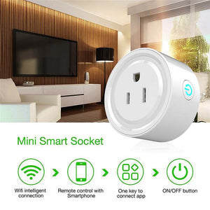 Smart Wifi Socket US Power Plug with Mobile APP