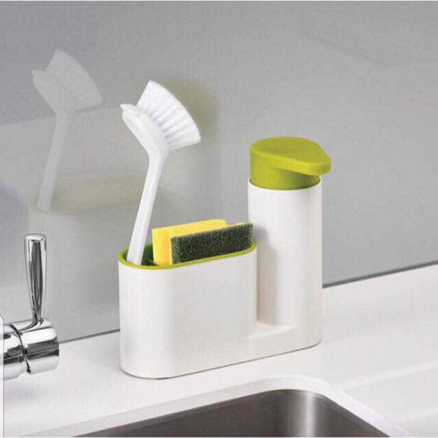 Sink Tidy Caddy with Soap Dispenser