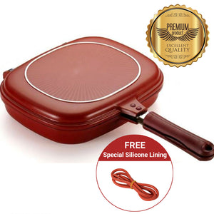 Durable Nonstick Double Pan