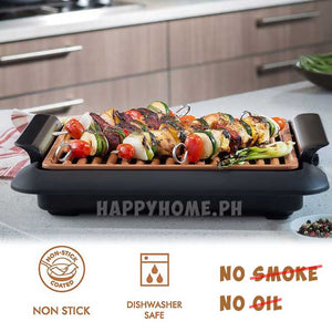 Smokeless Non-stick Electric Grill