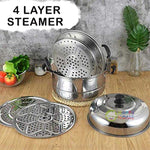 Happy Home 4 Layer Multipurpose Steamer