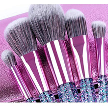 GLITTER QUEEN 10 PC BRUSH SET