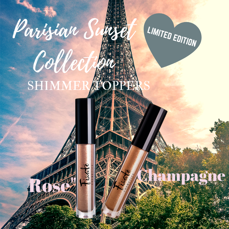 PARISIAN SUNSET COLLECTION SHIMMER TOPPER SET