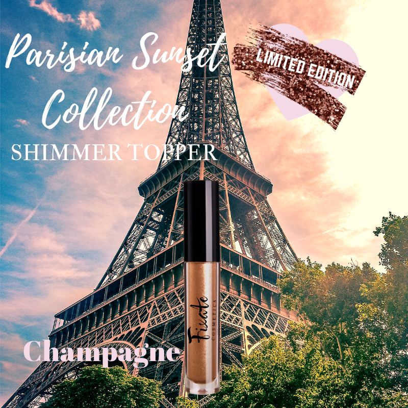 PARISIAN SUNSET COLLECTION-CHAMPAGNE LIQUID SHIMMER TOPPER